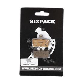 Sixpack Avid Trail 4 stempler Bremsebelægninger beige
